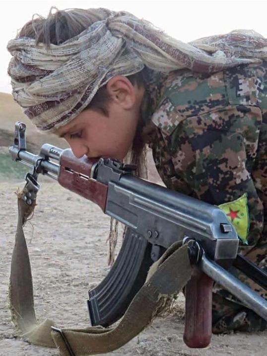 Child Soldier YPG